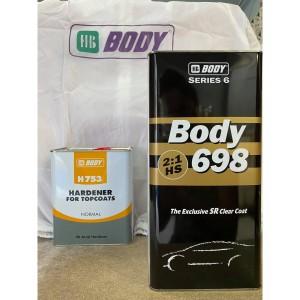 698 ΒΕΡΝΙΚΙ BODY 2:1 5L HB BODY
