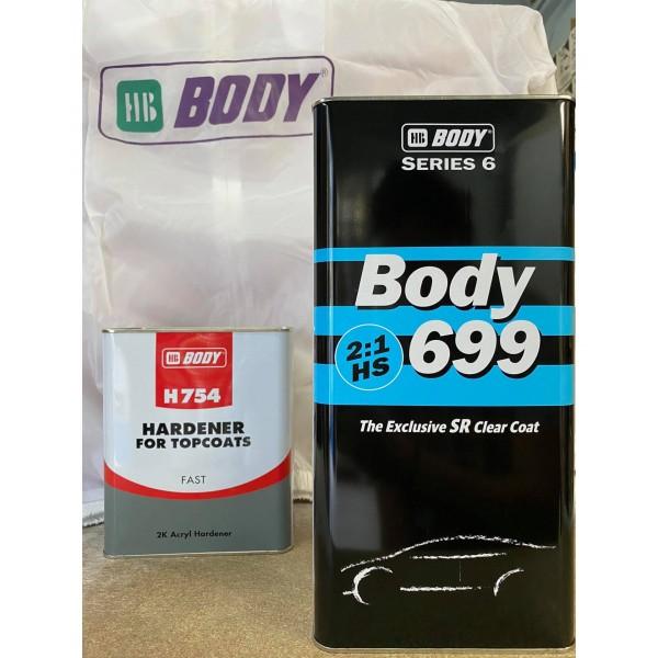 699 ΒΕΡΝΙΚΙ BODY 2:1 5L HB BODY